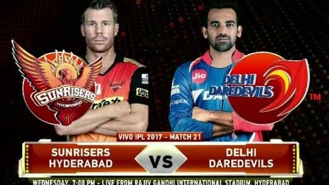 IPL 2017 | Match 21 |  Highlights | SRH vs DD | Sunrisers Hyderabad vs Delhi Daredevils