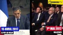 Marine Le Pen plagie François Fillon