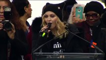 Madonna 'Blowing up the White House  Speaking at WomensMarch protest Madonna Speech-hdjebS2toK0