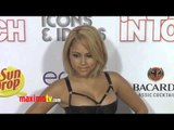 Kat DeLuna SUPERSEXY at In Touch ICONS + IDOLS VMA's Post Party 2012 Arrivals