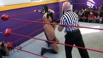 WWE Christina Von Eerie vs  David Starr show - video dailymotion