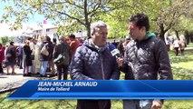 Jean-Michel Arnaud présent aux adieux de Mgr di Falco