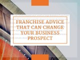 How to franchise my business- Franchising a business