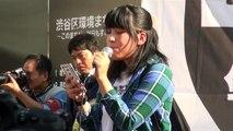 小池晃×小野次郎×福山哲郎×SEALDs渋谷ハチ公前アクション2015 10 18 part 1/2