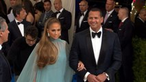 Jennifer Lopez and Alex Rodriguez Appear Together For First Time At Met Gala