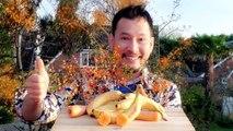How to Make Banana Decoration - Banana Art - Fruit Carving Banana Garnishes