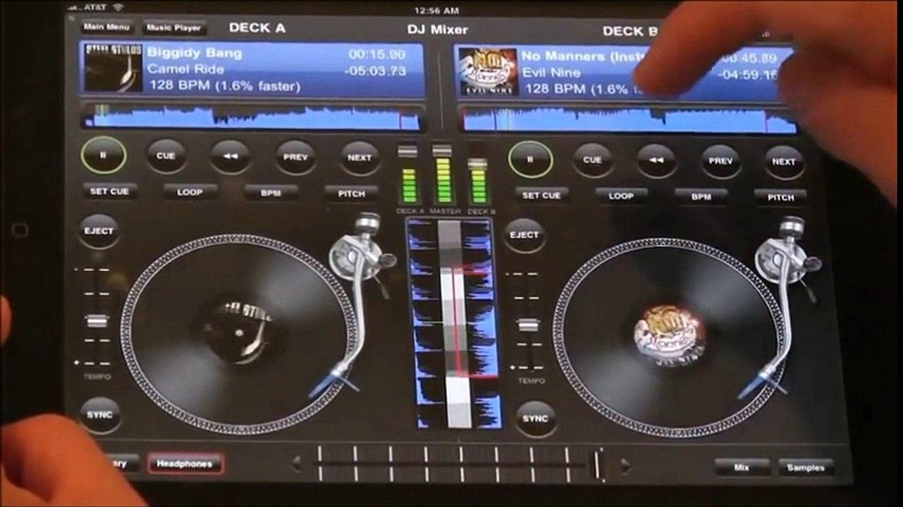 Edjing DJ Mix Premium Edition Mixer Console 4 0 3 + Crack IPA for IOS