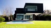 20 Dark and Modern Black Houses-AraQ2Q