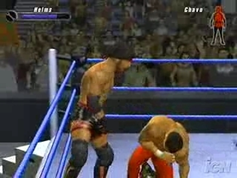 gregory helms vs chavo guerrero smackdown vs raw 2008 (ps2)
