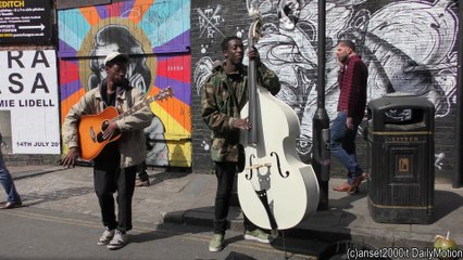 London Great Street Music Heard in Brick Lane