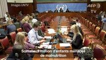 Somalie: 1 million d'enfants menacés de malnutrition (UNICEF)