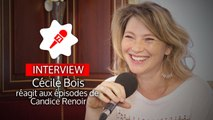 Candice Renoir : Cécile Bois réagit aux premiers épisodes de la saison 5