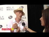 "Christopher Heyerdahl Interview at ""Hell On Wheels"" Season 2 Premiere Screening Arrivals"