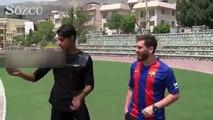 Messi'ye Messi'den daha çok benzeyen İranlı