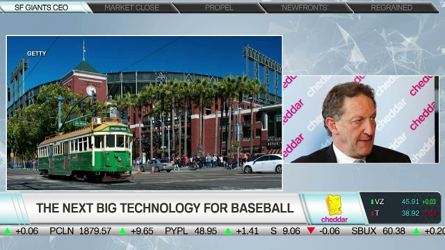 SF Giants President Laurence Baer Joins Cheddar