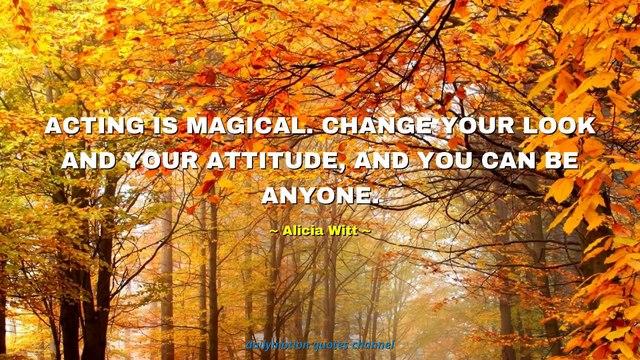 Alicia Witt Quotes