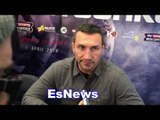Wladimir Klitschko Almost Too Excited For Anthony Joshua Fight EsNews Boxing