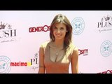 Elisabetta Canalis at 2012 PLUSH Event ARRIVALS - Maximo TV Red Carpet Video