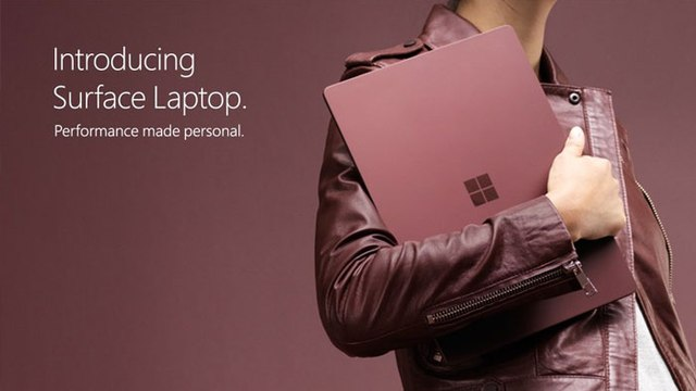 Introducing Microsoft Surface Laptop