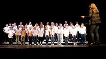 Rencontres chantantes à Oissel : élèves de Mme Saunier et M. Italiana (vidéo 1)
