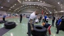 Tire flip (women) Jyväskylä power weekend,strongman cup Finland