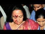 Hema Malini injured in road accident; Driver arrested for over-speeding