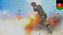 Photos capture army specialist's final moment during fatal explosion