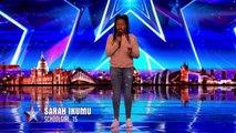 Britain's Got Talent 2017 : Sarah Ikumu chante une musique de Jennifer Hudson avec Brio !