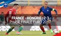 U17, Euro 2017 : France - Hongrie 2-3
