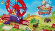 Oyuncak Dünyası Renkli Lunapark Tren Oyun Seti, Dönme Dolap, Tren Oyuncak Thomas Ferris Wheel