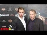 """Alexander Skarsgard and Stellan Skarsgard at """"The Avengers"""" Premiere Arrivals"""