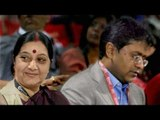 Sushma Swaraj in thick soup for helping Lalit Modi