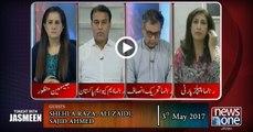 TONIGHT WITH JASMEEN   03-May-2017  Dawn Leaks   Panama Leaks   PM Nawaz Sharif  