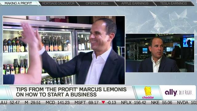 """The Profit"" Marcus Lemonis Explains How to Start a Business"