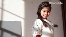 A designer creates a sustainable fashion line that grows with your kids