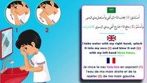 apprendre à faire les Ablution (islam)