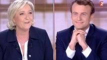Grand débat Le Pen - Macron : violents accrocs dès le début de la soirée