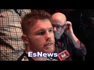 canelo responds to chavez jr trash talk responds to stamina question esnews boxing