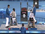 Women's Wheelchair Fencing Individual A gold medal competition at Beijing 2008 Paralympic Games