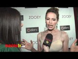 Bethany Joy Galeotti Interview at ZOOEY Magazine RELAUNCH Party - Exclusive