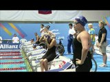 Women's 50m Freestyle S7 - 2011 IPC Swimming European Championships
