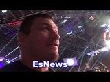 Matt Mitrione message to fedor watches  Curtis Millender epic win EsNews Boxing