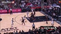 Tony Parker Scary Knee Injury  Rockets vs Spurs