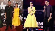Hamza Ali Abbasi and Maya Ali - Winning the Best onscreen couple - Hum Awards 2017