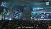 [ENG SUB] Baeksang Arts Awards 2017 Popularity Award - Kyungsoo speech cut