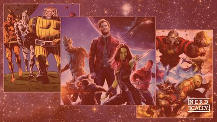 What's the origins of Marvel's galactic misfits, Guardians of the Galaxy?
