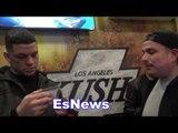Nate Diaz And Chris Avila On Chris Brown vs Soulja Boy EsNews Boxing