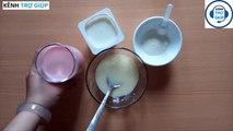 Cách Làm Sữa Chua Dẻo Ngon Mịn Bằng Bột Rau Câu - kenhtrogiup.com