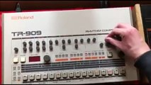 The Real TR 909 by Daft PUNK (Thomas bangalter) from 1996 - Homework (Number 5 of 10)