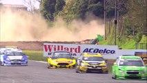 TC 2000 2017. Final Autódromo Juan y Oscar Gálvez. Agustin Lima Capitao Huge Crash Rolls